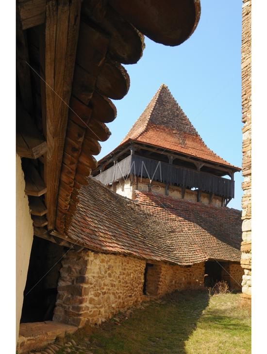 44. Cetatea Viscri, detaliu
