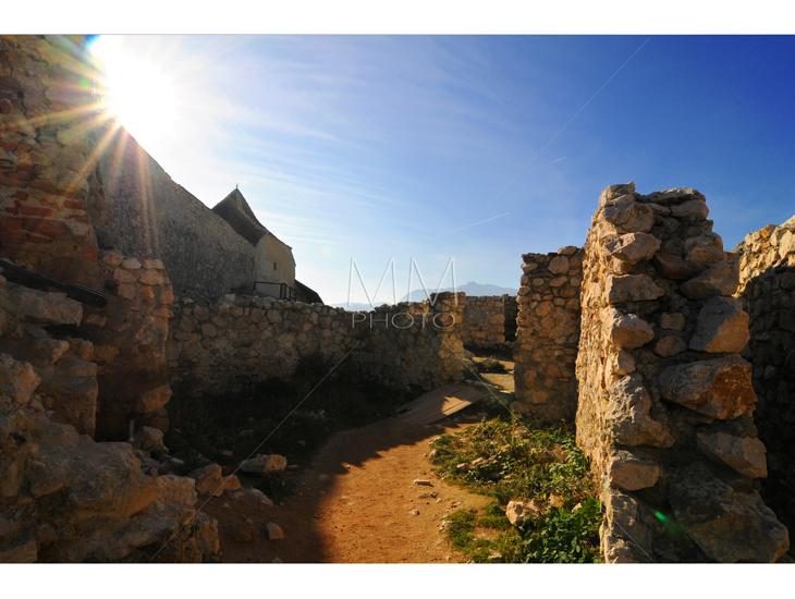 47. Cetatea Rasnov, detaliu